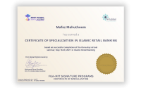 Islamic retail banking certificate of specialisation